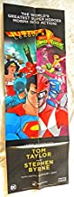 Justice League Power Rangers 12 X 36 Inch Folded VERY RARE Uncirculated Promo Poster - BOOM! Studios 2016 - Grade 9.8 by ME the Seller - RARE-The ONLY ONE ON AMAZON!