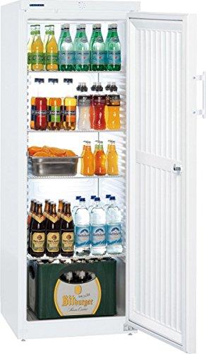 Liebherr FK 364 Kühlschrank, autonom, weiß, rechts, R600a, Stahl, Kunststoff