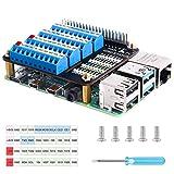 Seamuing Raspberry Pi 4 GPIO Scheda di Espansione Breakout GPIO Vite Terminale Cappello per Raspberry Pi 4B 3B+3B 2B B+Raspberry Pi Zero e Zero W
