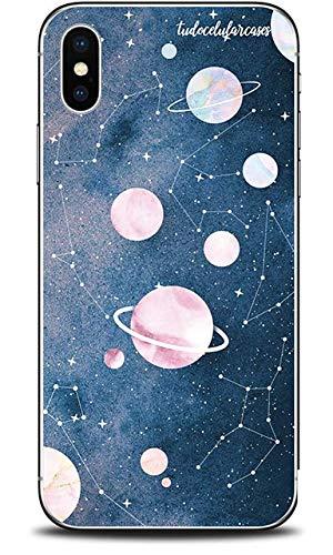 Capa Case Capinha Personalizada Planetas Poeira Estrelar Xiaomi Redmi Y2/S2 - Cód. 1144-F007