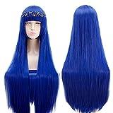 Land of the Lustrous Lapis lazuli wig Hoseki no Kuni Cosplay Wig Costume Play Woman Adult Wigs Halloween Anime Game Hair