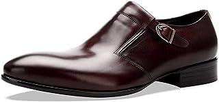 Rui Landed Oxford pour Hommes Chaussures Habillées Slip on Style Haute Qualité en Cuir Véritable Délicatesse Monk Strap Él...