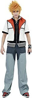 Kingdom Hearts 2 Roxas Cosplay Costume for Men | Full Set