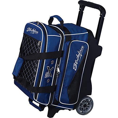 KR Strikeforce Unisex-Erwachsene Flush Double Roller Royal Bowlingtasche, königsblau, Einheitsgröße