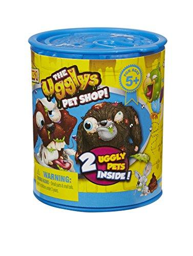 Ugglys Pet Shop Figurines (2 Ugly Animaux de Compagnie à l'intérieur)