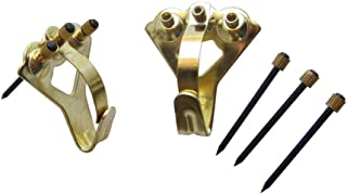 Earthquake Hangers | Tremor Hanger | Earthquake Picture Hanging Hooks | 75lb Picture Hangers | Picture Hang Solutions TH-75C