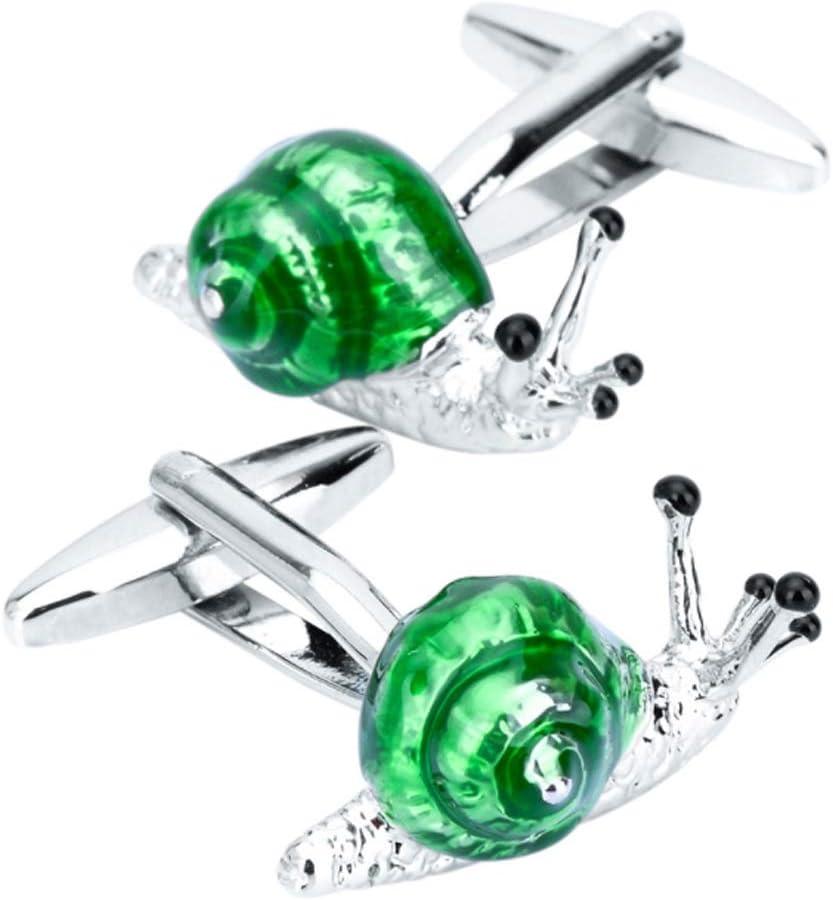 ZZABC Cufflinks for Mens Shirt Cuff Accessories Crystal Animal Enamel Cufflink Fashion Jewelry Design
