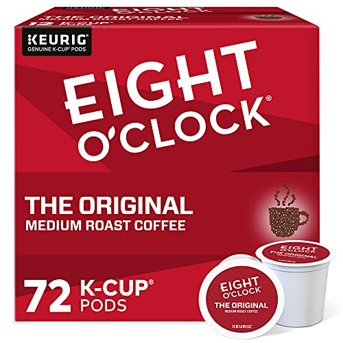 Eight O'Clock Coffee The Original, Single Serve Coffee K-Cup Pod, Medium Roast
