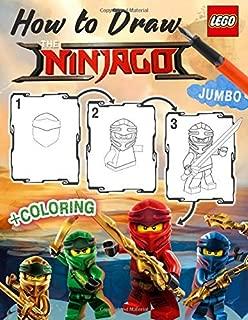 Lego Ninjago How to Draw: How to Draw Ninja, Villains, 25 Most Powerfull Ninjas, 2in1 Ninjago Coloring Book