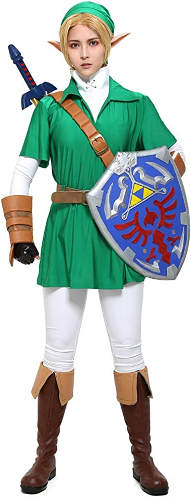 miccostumes Men's cheap Link Cosplay Outfit Omaha Mall Halloween Costume