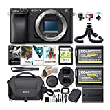 Sony Alpha a6100 APS-C Mirrorless ILC (Body Only) Bundle (7 Items) (7 Items)