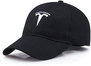 kimseet Baseball Cap Men Cap for Man Women Unisex Tesla Baseball Caps for Men car Fans Hats Black