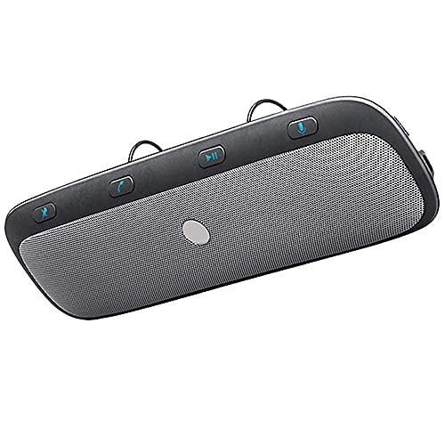 KUCE Visera Altavoz inalámbrico para Coche con Bluetooth, Audio para teléfono Manos Libres, Altavoz de música, Adecuado para teléfonos Inteligentes