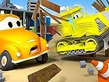 Der Abrisskran und Tom der Abschleppwagen
