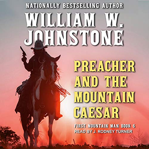 Preacher and The Mountain Caesar audiobook cover art