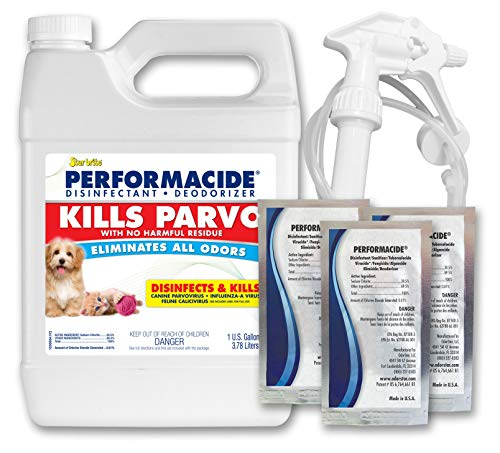 Kill Parvo Disinfectant - Gallon KIt - Makes 3 Gallons
