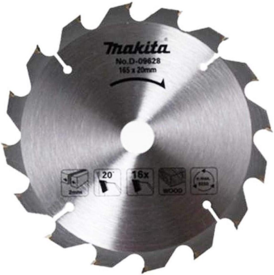 Makita D-09628 Circular Max 60% OFF Saw Blade Diameter: x 16 Teeth MM 165 fo depot
