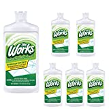 The Works Tub & Shower Cleaner for Soap Scum, Rust, and Tough Stains | Value Pack of 6