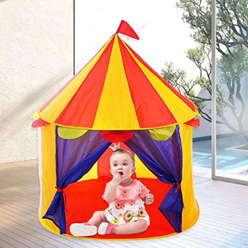 Princess Castle Play Tent, Girls Pop Up Play Tent - Playhouse Gift For Girls & Toddler, House Toy For Indoor & Outdoor Use
