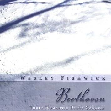 Beethoven Three Romantic Piano Sonatas
