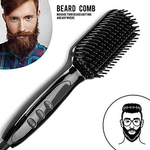 Kamm Beard Straightener Männer Schnelle Bartglätter Multifunktionale Schnelle Elektrische Bart Glätteisen Haarglättung Shaping Schnelle Haar Bart Styler