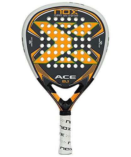 Nox Ace B.1 Pala de pádel, Unisex Adulto, Naranja: Amazon.es ...