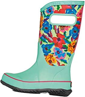 BOGS Kids Girl's Rain Boots Water Pansies (Toddler/Little Kid/Big Kid)