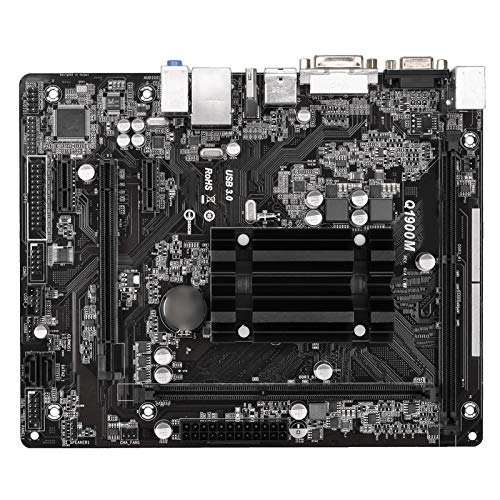 Gaming mainboard mit prozessor Fit Für AsRock Q1900M Integrierter J1900 Quad-Core CPU Low Power DDR3