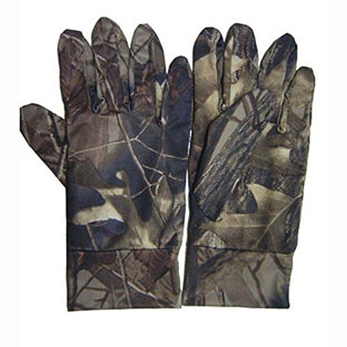 Tarnhandschuhe, Elastische Handschuhe zur Tarnung bei Jagd oder Angeln