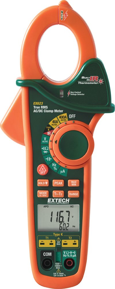 Extech EX623 Clamp InfraRed Thermometer