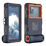YOGRE Professional Diving Phone Case, Underwater Photography Video Housings Case with Lanyard[50ft/15m], Diving Waterproof Case for iPhone Samsung LG Google etc