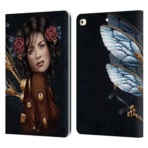 Official Brigid Ashwood Unlocked 2 Steampunk Leather Book Wallet Case Cover Compatible For Apple iPad 9.7 2017 / iPad 9.7 2018