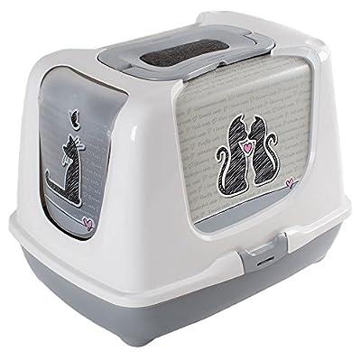 Rinderohr Trendy 50 Cat Litter Box Grey