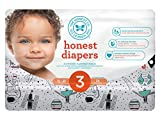 Honest Baby Diapers, Space Travel, Size 3 (136 Count)