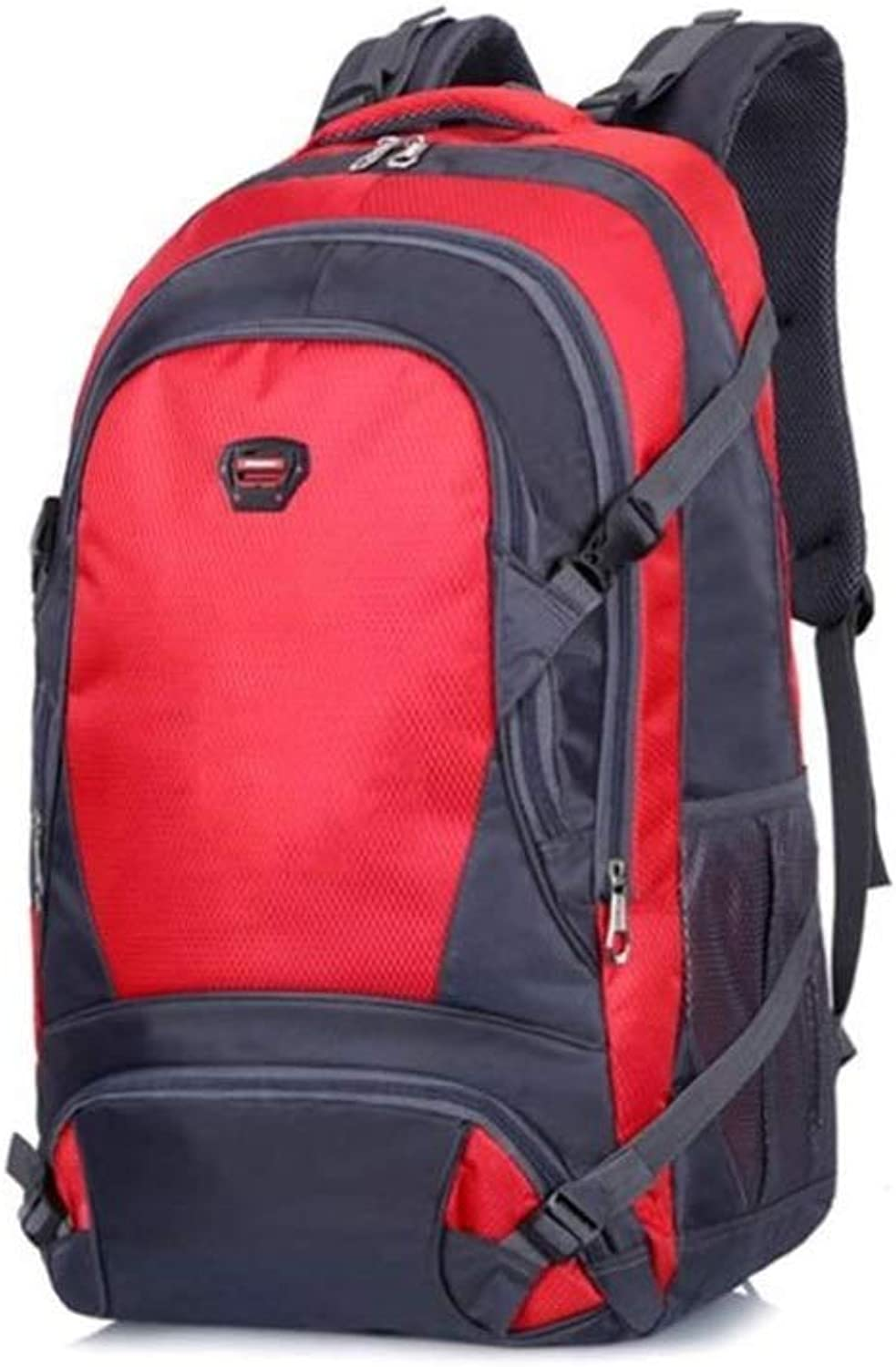 Lightweight Foldable Backpack  Waterproof Travel and Hiking Backpack  Foldable and Convenient for Camping Outdoor Sports (color   Red, Size   35  20  60CM)