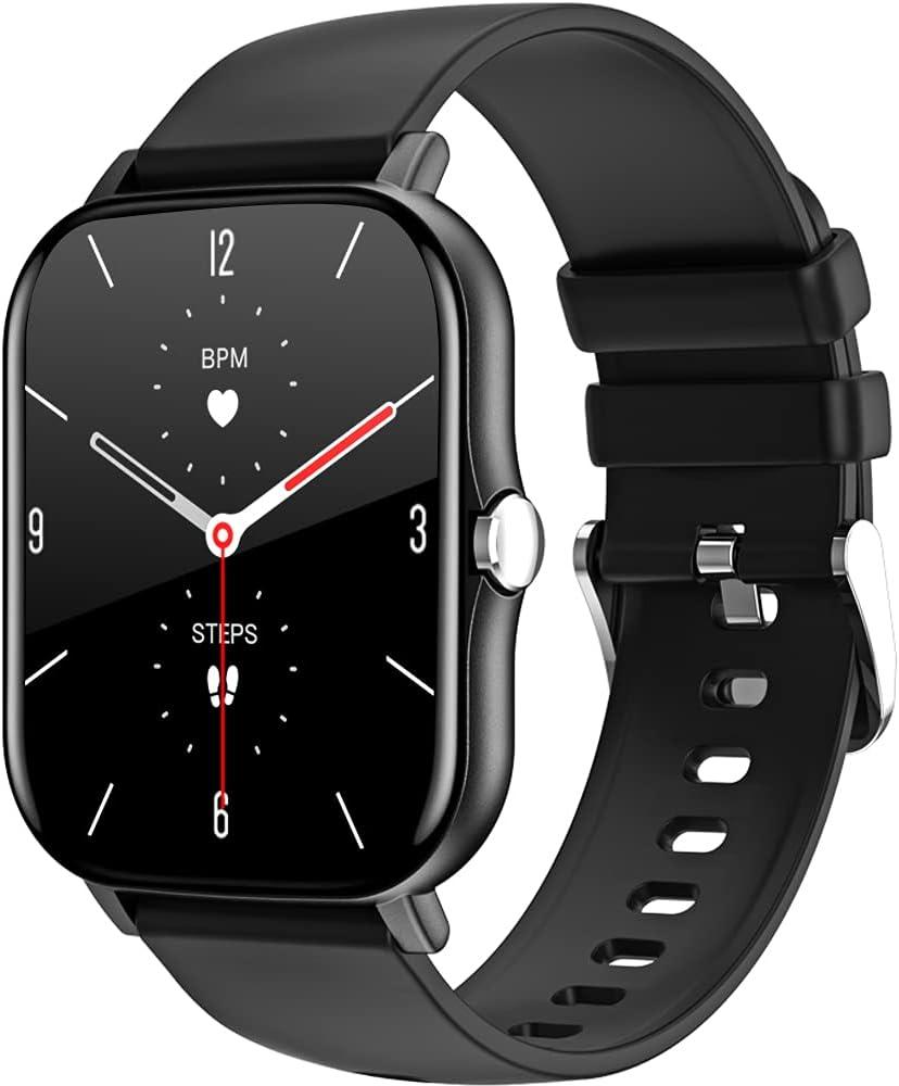 LEMFO Smartwatch Herren, 1.69 Zoll Touchscreen Smart Watch Fitness Tracker mit personalisiertem Bildschirm, Herzfrequenz, Schrittzähler, Kalorien….