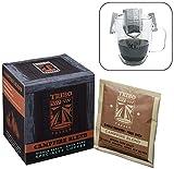 Tribo Coffee Single-Serve Portable Pour Over Drip Coffee - Specialty Grade - Campfire Blend - 10 Servings Per Box (Medium-Dark Roast)