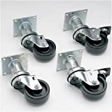 Pitco Frialator B3901501 6' Swivel Casters for Pitco Fryers 440-005, 440-007, 440-008 and 440-018