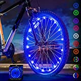 Activ Life Bike Lights for Wheels (1 Tire, Blue) Best Birthday Gifts for Boys, Men & Teens - Stocking Stuffers 5 6 7 8 9 10 11 12 Year Old. Top Unique 2021 Christmas Ideas for Him, Dad, Brother, Uncle