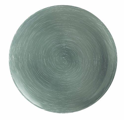 Luminarc 9203546 Stonemania - Juego de 6 Platos Llanos (Cristal), Color Gris
