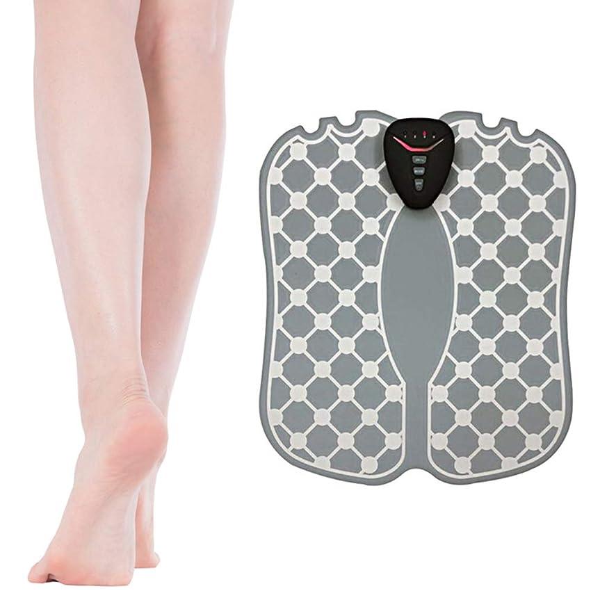 技術的な割り込みバッグフットマッサージャー、足底脈拍、マッサージクッションABS理学療法活性化ペディキュア10足バイブレーターワイヤレスマッスルスティミュレーターUSB充電式