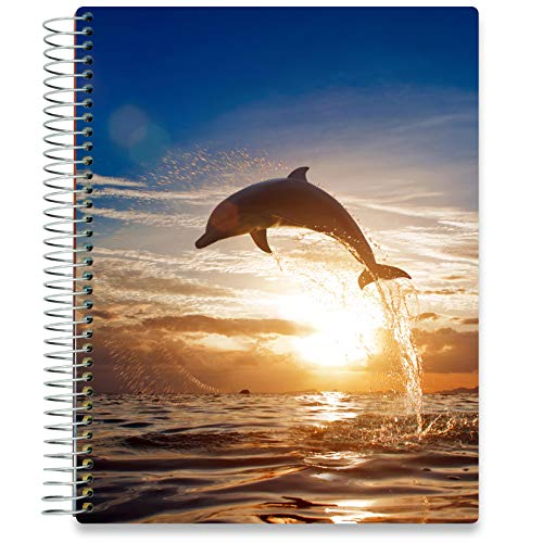 Tools4Wisdom Daily Planner 2020-2021 - Hardcover with 8.5x11 Colorful Interior - Vertical Weekly Layout - Monthly Calendar Tabs and Stickers (2020 2021 Academic Year, Q2SO)