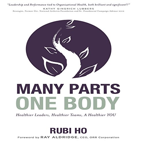 Many Parts, One Body audiobook cover art