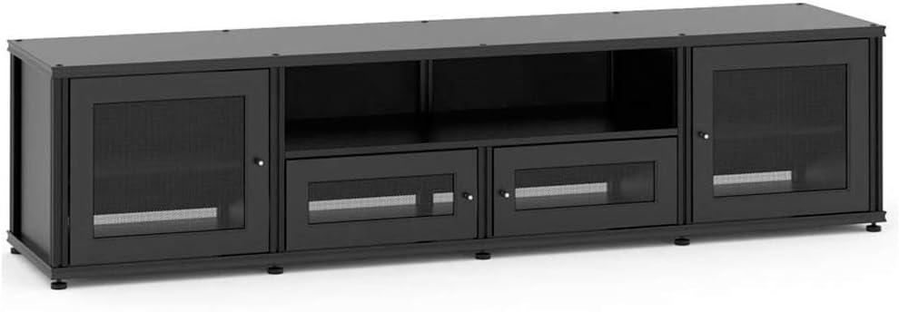 Salamander Designs Audio Video Cabinet Black