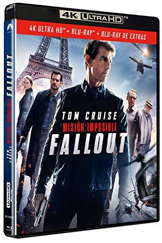 Misión Imposible 6: Fallout (4K UHD + BD + BD Extras) [Blu-ray]