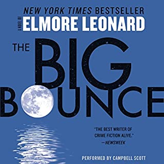 The Big Bounce audiobook cover art