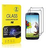 FCLTech [2 Pack Protector de Pantalla para Samsung Galaxy S4 Cristal...
