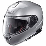 Nolan N104 Absolute Classic Klapphelm Motorrad Polycarbonat n-com - Platin Silber Größe 2XL