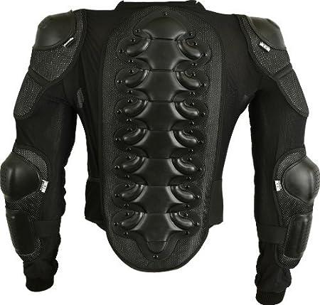Motorrad Schutz Jacke Pro Motocross Protektorenjacke Mit Rückenprotektor Scooter Enduro Für Kinder Xs Bekleidung