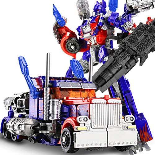 Robot Optimus Prime Bumblebee Puede Cambiar Las Formas del Modelo de aleación de Coche Anime Toys-para niños de 6 años en adelante Optimus Prime